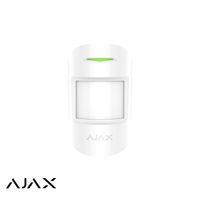 Ajax MotionProtect Plus, wit, draadloze PIR Radar
