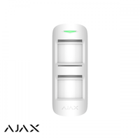 Ajax MotionProtect Outdoor, wit, draadloze passief infrarood buiten detector